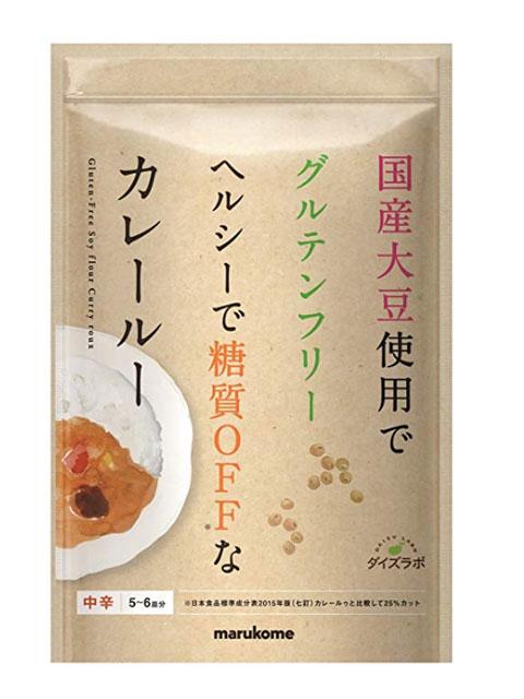 マルコメ ダイズラボ 大豆粉のカレールー